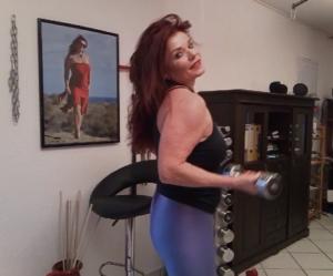 Das Fitnesstraining der Lady